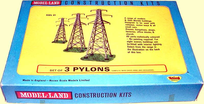 Pylons - Land keuken model ...